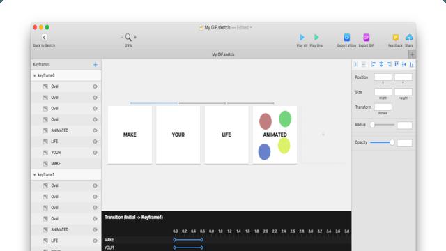 Timeline for Sketch - Interaction Design